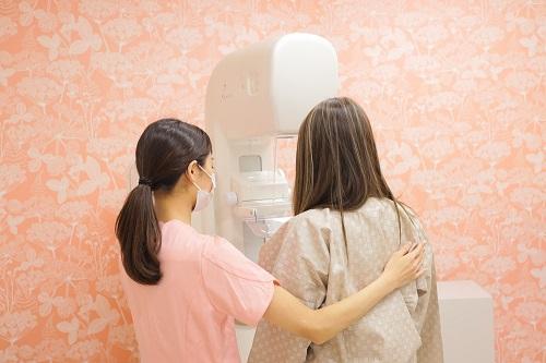 マンモグラフィー検査の流れ⑤