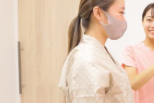 マンモグラフィー検査の流れ③