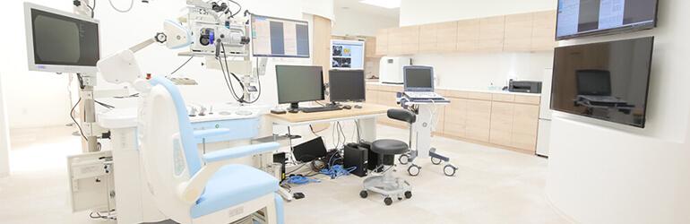 ご来院いただく患者様にとって心地良い空間作りを